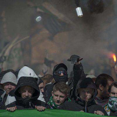 Hammarby fans © Photo Roger Vikstrom