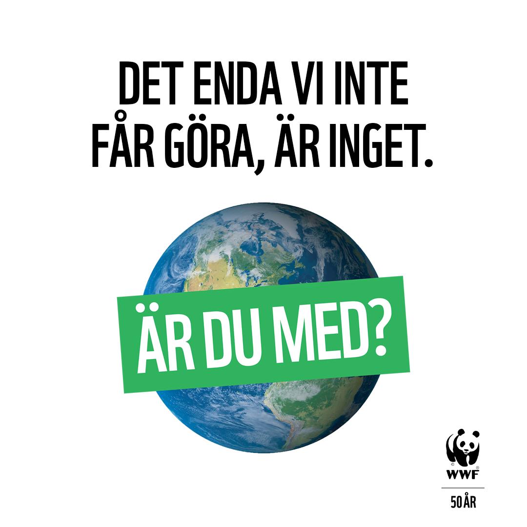 WWF uppmanar till medlemsskap