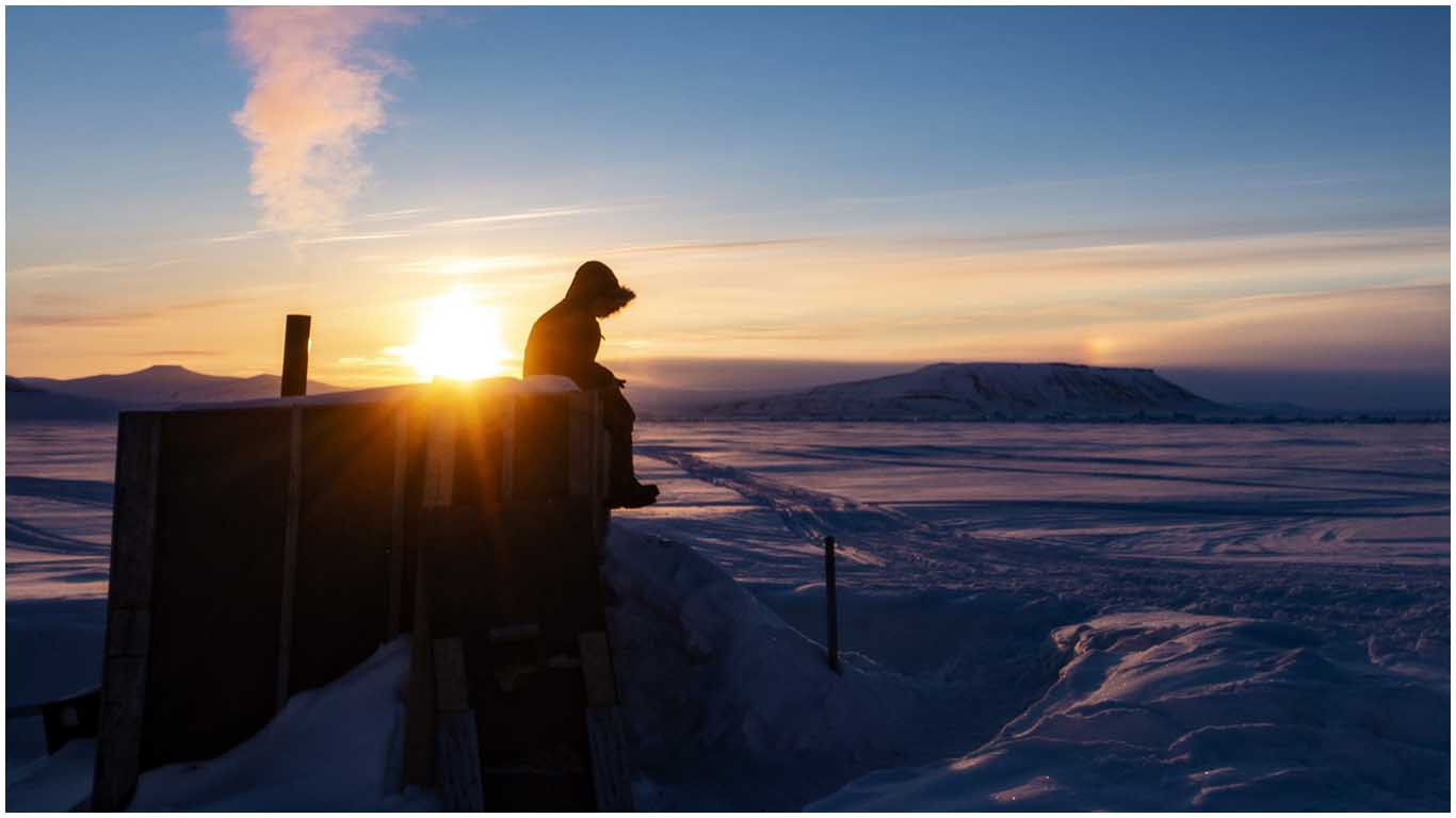 Bostad på Isen Svalbard
